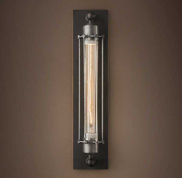 """Possible Horizontal Sconce Over Master Bathroom Mirror"""" Grand Impressive Wall Sconces Bathroom Review"""