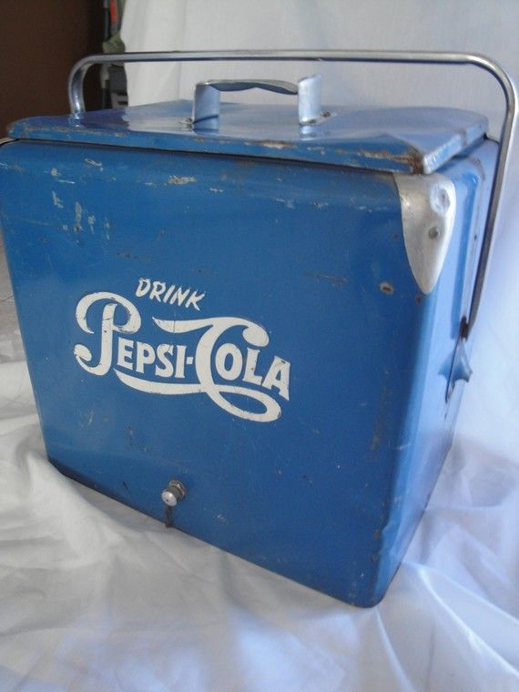 Items Similar To Vintage Pepsi Cooler 1950 S On Etsy Pepsi Pepsi Vintage Pepsi Cola