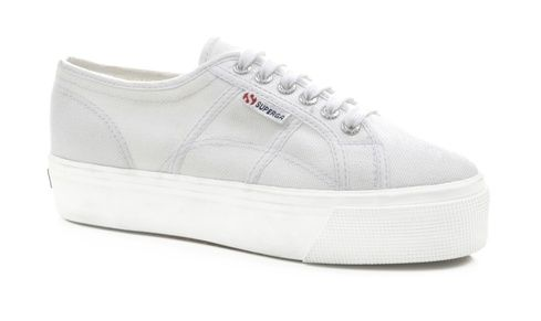 c631c7edfe8d Our Classic Superga 2750 gets remastered! The 2790 flatform is a cross  between our classic tennis shoe shape