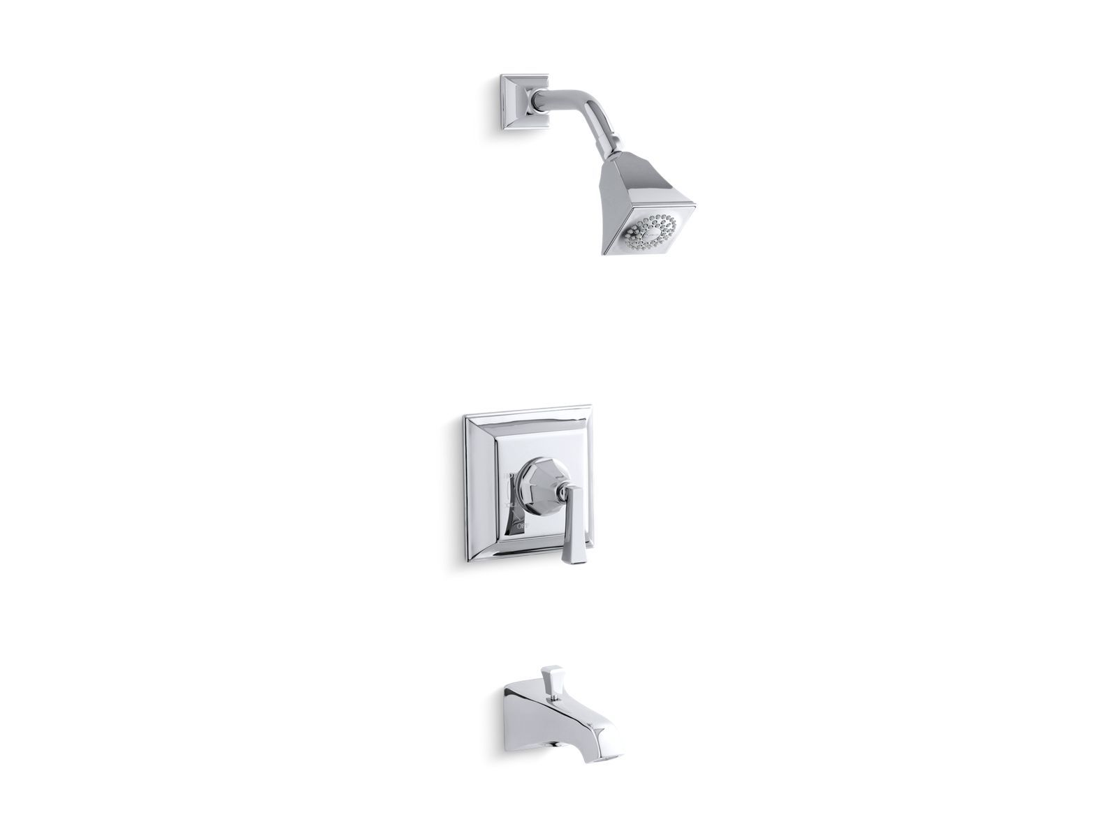 K T461 4v Memoirs Stately Rite Temp Bath And Shower Faucet Trim