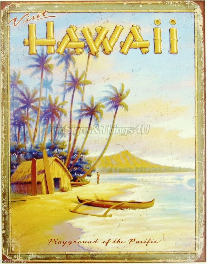 Nice Hawaiian Wall Art Decor Ornament - Art & Wall Decor - hecatalog ...