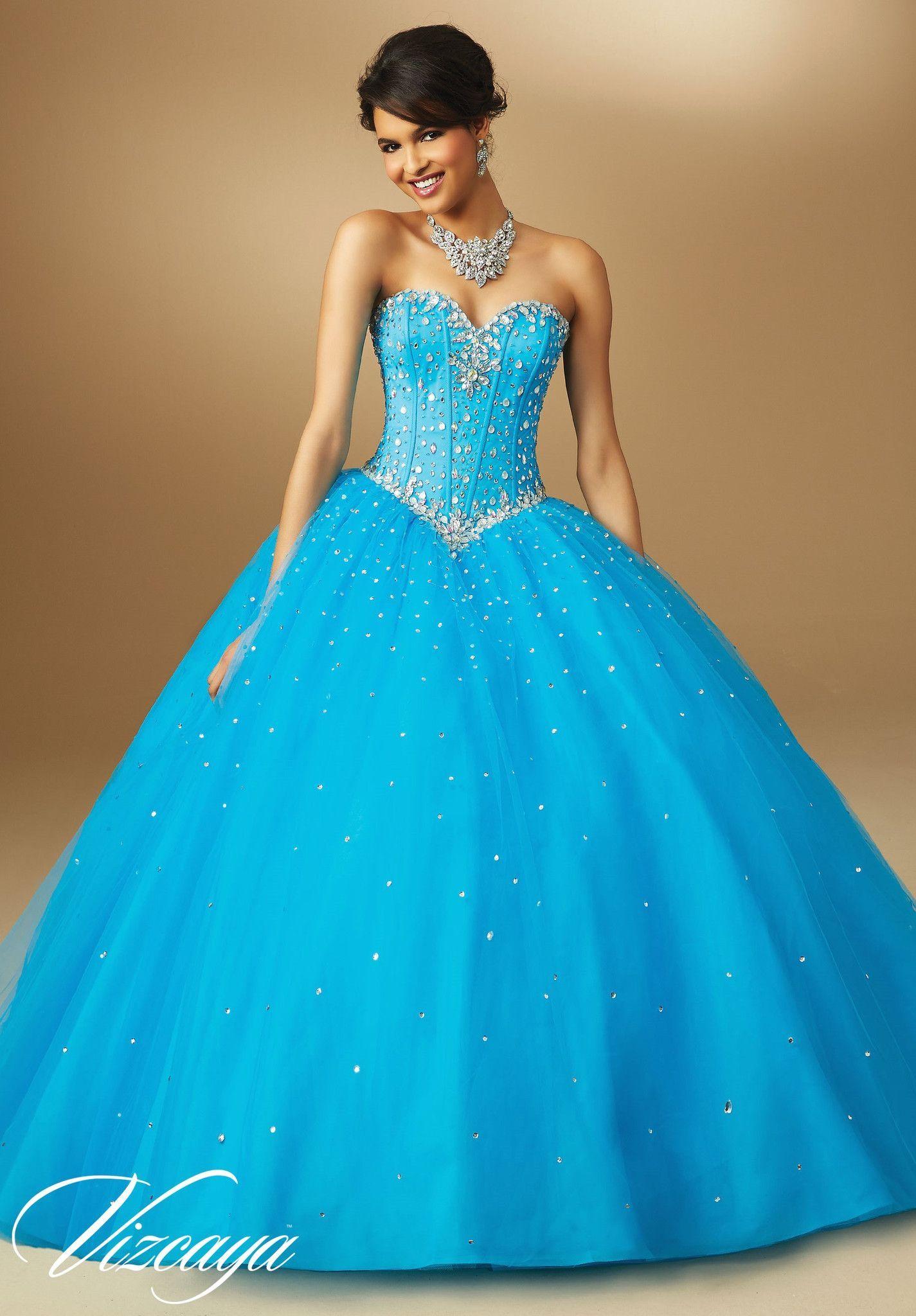 Mori Lee Quinceanera Dress 89017 | Prinzessinnen kleider, Ideen für ...