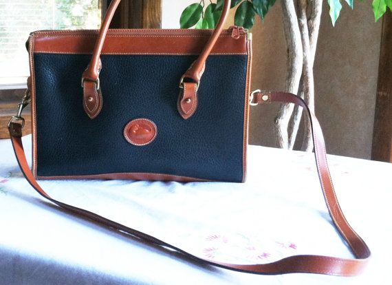 Vintage 80's Large Dooney and Bourke AWL by ChevyLovesLaura, $45.00