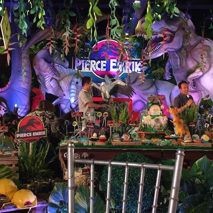 jurassic park birthday party