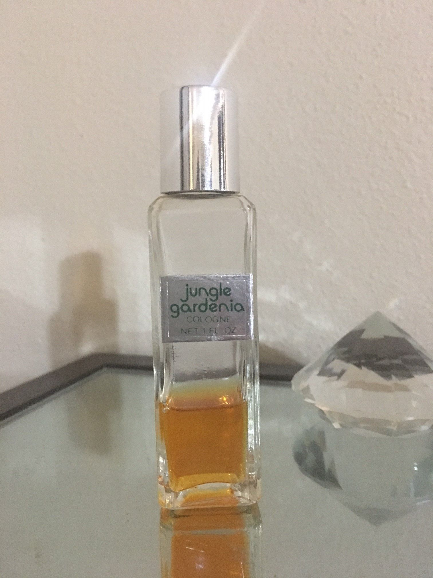 Vintage Jungle Gardenia By Tuvache Perfume Bottles Perfume Oils