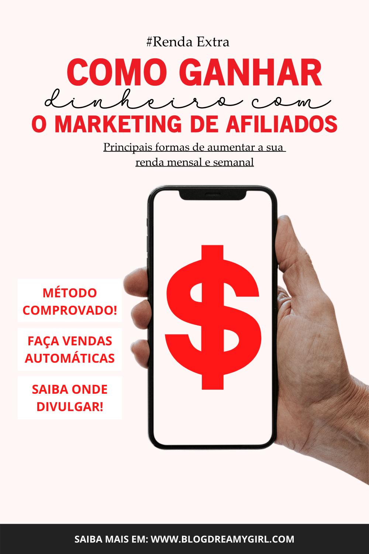 Como ganhar dinheiro com marketing de Afiliados?