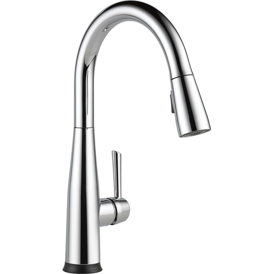Delta Essa Touch2o Chrome 1-Handle Pull-Down Touch Kitchen Faucet ...