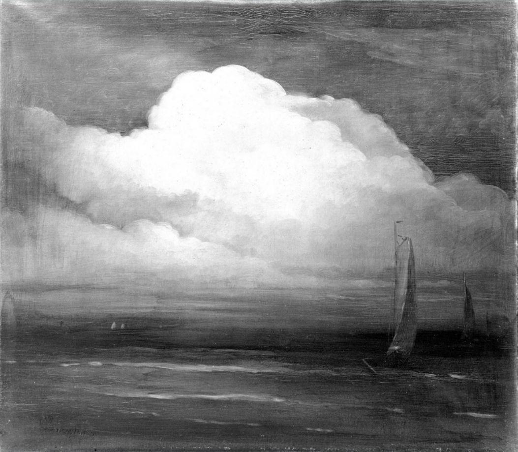 Leon Dabo (1864 - 1960) • The Cloud