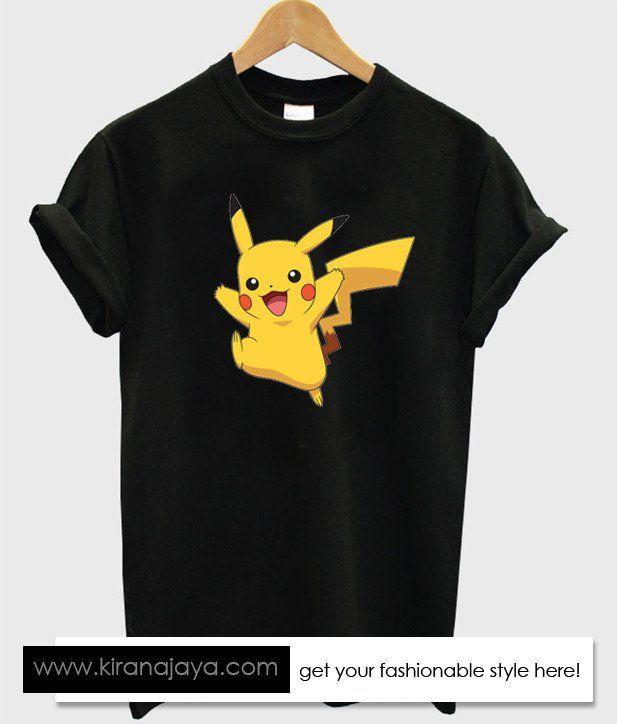 pikachu tshirt