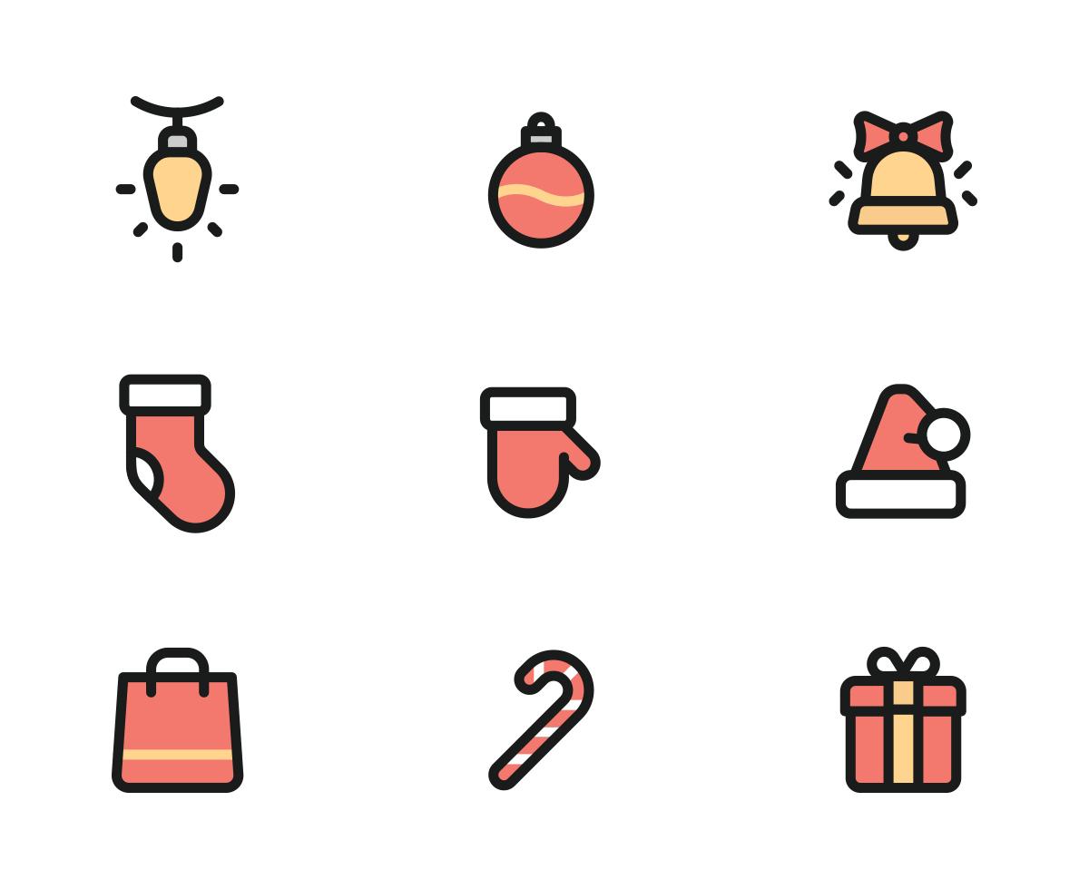 Christmas Icon Png.Free Christmas Icons Colored Christmas Icons Christmas