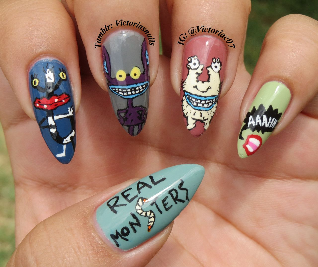 Aaahh real monsters who else loved this show as a kid makeup