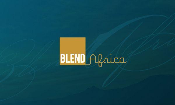 Blend Africa by Trushar Shah, via Behance