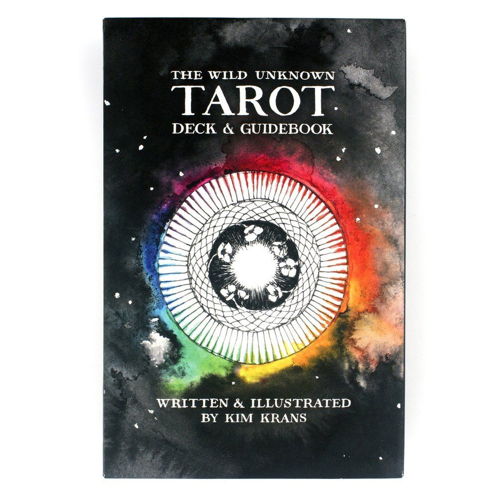 The Tarot Deck by Kim Krans features 78 cards filled with intricate magic and mystery. The 200+ page guidebook makes it easy to use and interpret the cards, give readings, and delve into the themes and images of the tarot. Includes: 78 illustrated tarot cards 200+ page illustrated guidebook Keepsake box with lifting ribbon