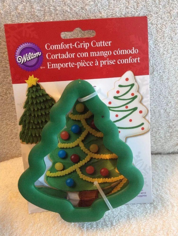 New Wilton Christmas Tree Comfort Grip Cookie Biscuit Brownies