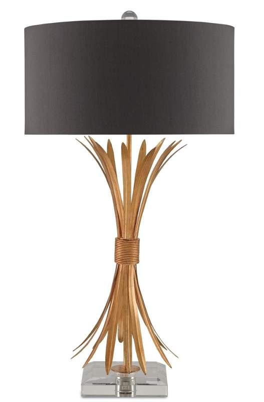 Idyll 1 Light Table Lamp With Black Shantung Drum Shade Table Lamp Lamp Table Lamp Design
