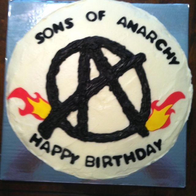 Sons Anarchy Birthday Cake cakepins.com