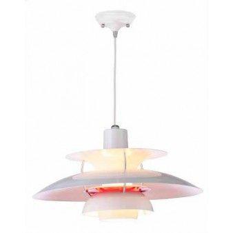 Designbelysning Og Lamper Original Kvalitet White Pendant Lamp Pendant Lamp Lamp Design