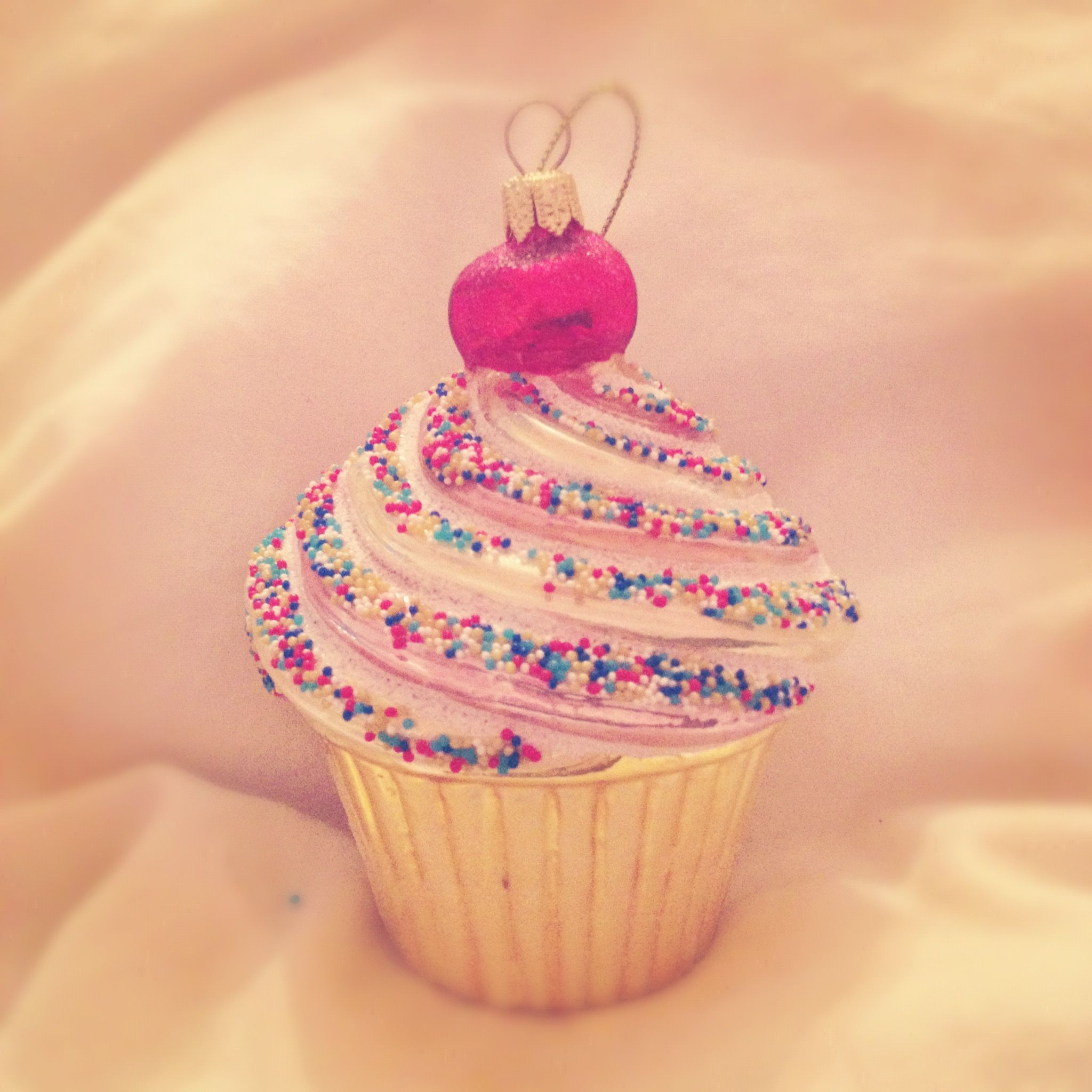 My adorable cupcake ornament love pinterest
