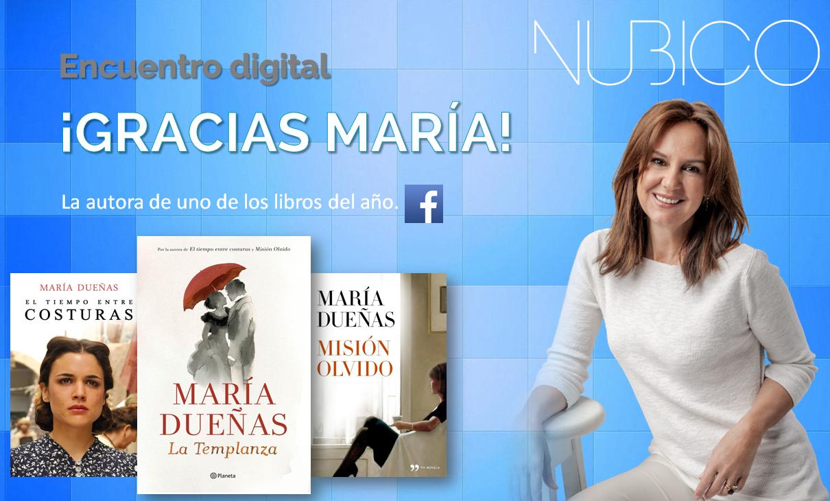 """María Dueñas: """"Me quedo con mi última novela, 'La Templanza', por su personaje"""".  http://blog.nubico.es/2015/04/21/maria-duenas-me-quedo-con-mi-ultima-novela-la-templanza-por-su-personaje/"""