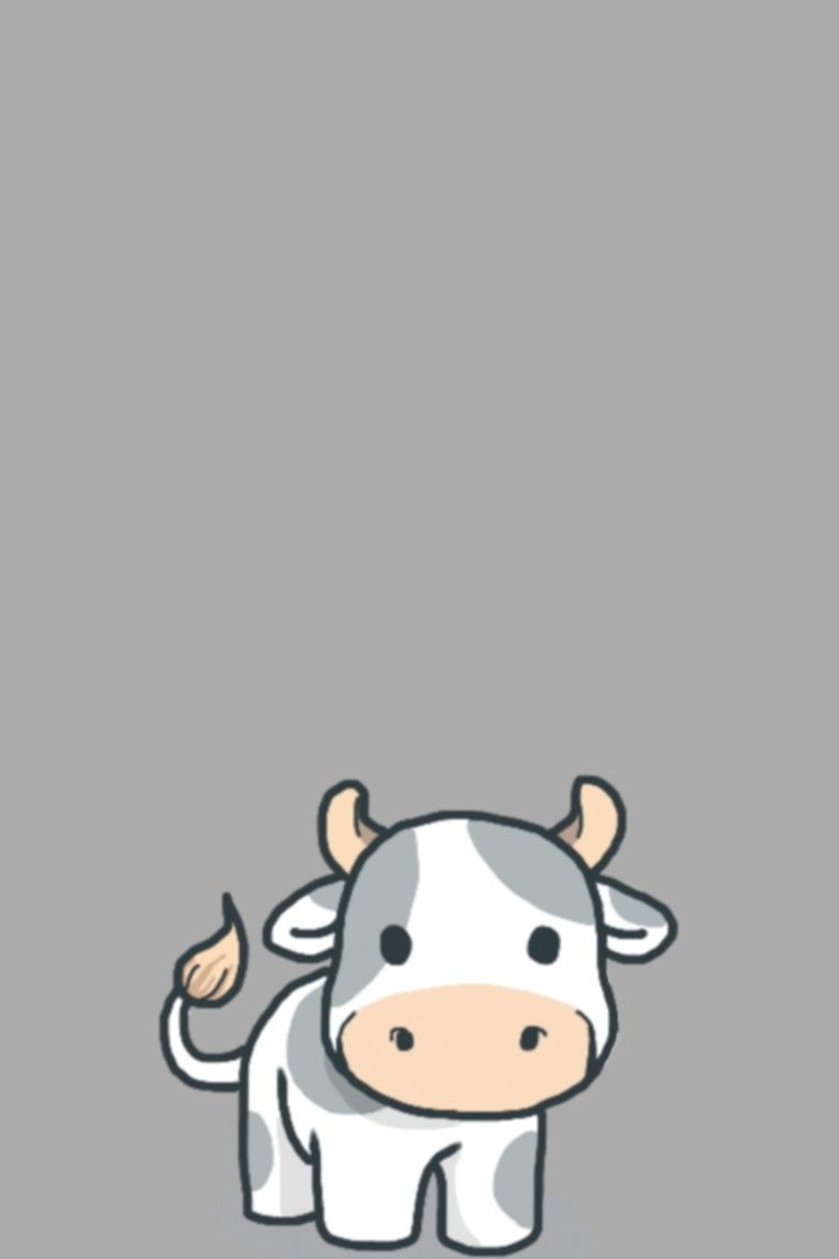 Little Cow Wallpaper Wallpaper Iphone Cute Cow Wallpaper Cute Wallpapers
