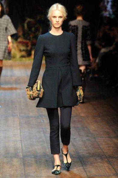 Sfilata Dolce   Gabbana Milano - Collezioni Autunno Inverno 2014-15 - Vogue 9e39e81da32