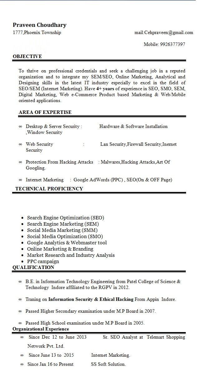 Seo On And Off Page Sem Smm Smo Ppc Seo Resume Marketing Consultant Marketing Process Digital Marketing