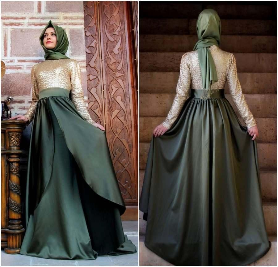 2015 Caftan Long Dubai Muslim Evening Dress Kaftan Abayas Arabic Turkish  Evening Robe Abayas for Woman Islamic Clothing Chape Prom Dresses Online  with ... 0403cbba296f