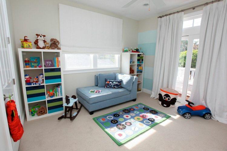 Kinderzimmer Vorhänge, die eine einladende und angenehme