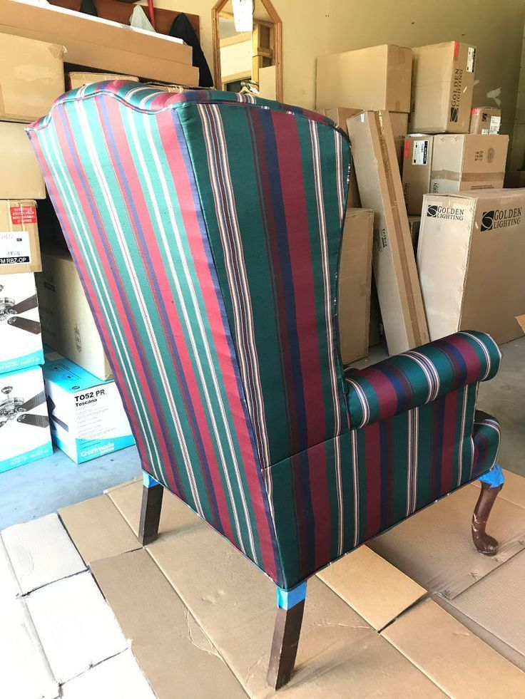 Painted Wing Back Chairs Furniture, Furniture makeover