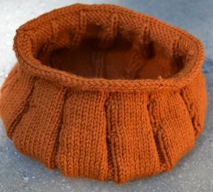 Diy Pumkin Crafts Diy Knitted Pumpkin Bowl Pattern Rg Ev