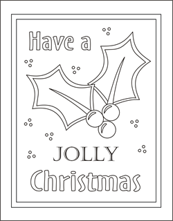 Holly Coloring Card Christmas Coloring Cards Free Coloring Cards Christmas Color Christmas Coloring Cards Christmas Coloring Pages Christmas Coloring Sheets