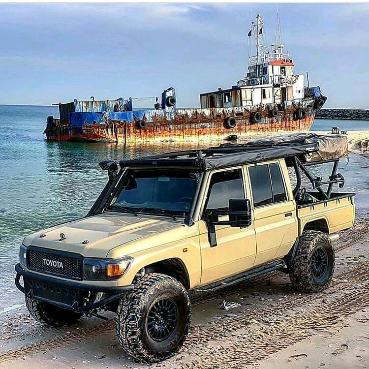 It S Not A Defender But Bagheera Adventures Toyota Grj 79 Follow Us Dailyoverland Land Cruiser Toyota Cruiser Toyota Land Cruiser
