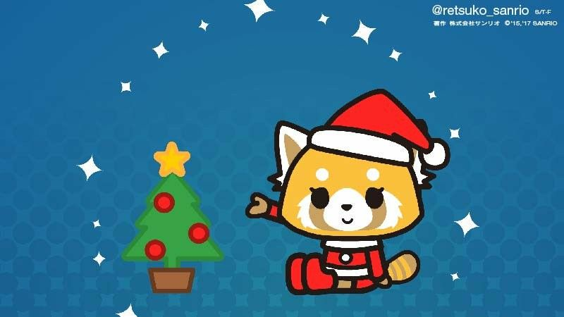 Aggretsuko Christmas.Merry Christmas Aggretsuko Other Sanrio Sanrio Edge Of