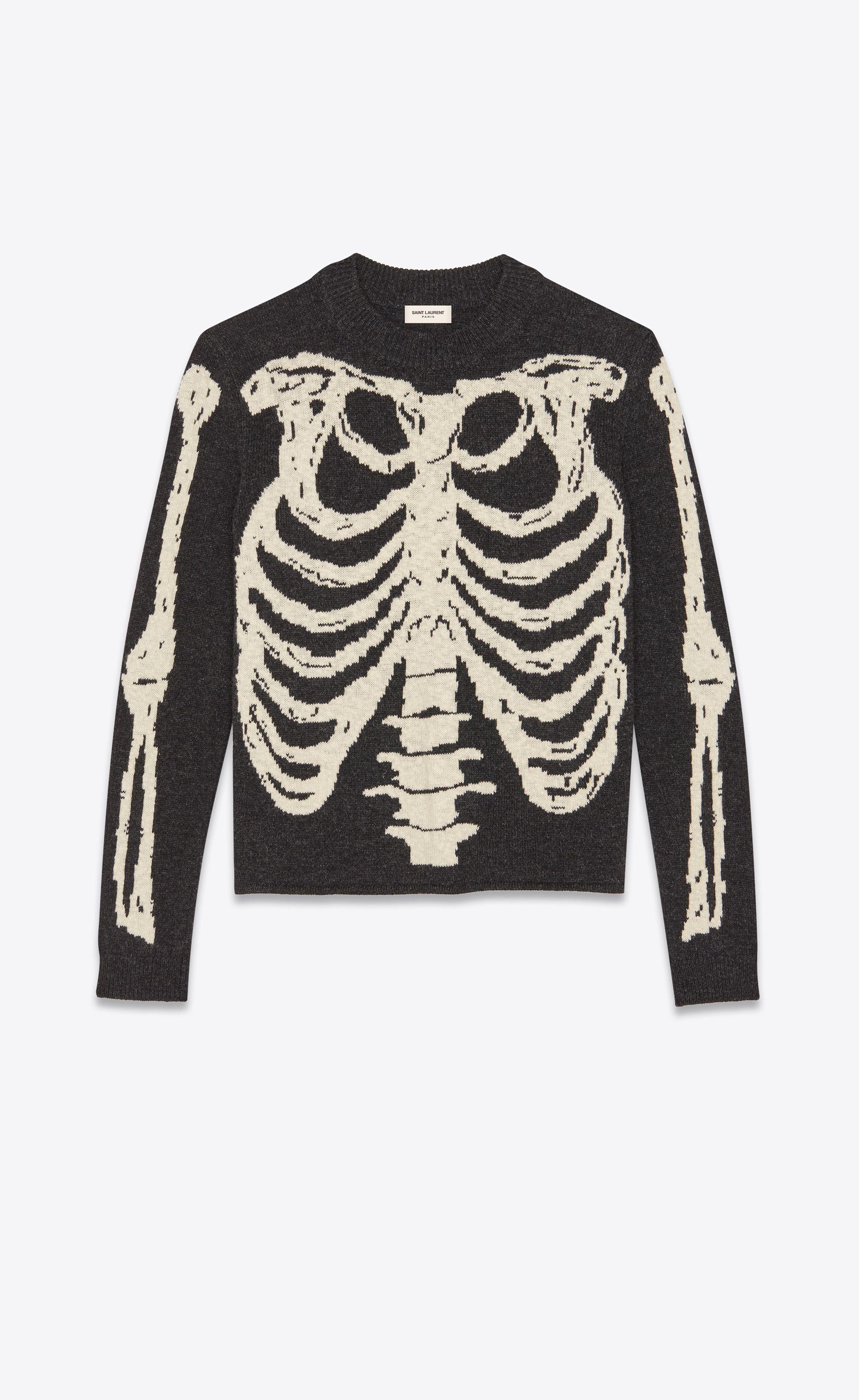 d23f08157b Skeleton jacquard knit   Personal - current looks   Sweaters ...