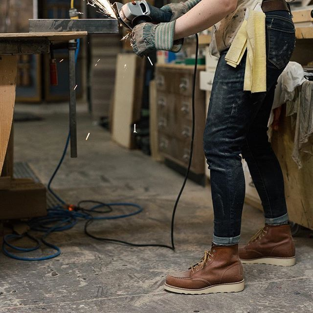 9dc957b52785 Red Wing Heritage Women s 6-Inch Mocs  Boots for her daily grind.   redwingwomen  redwingheritage