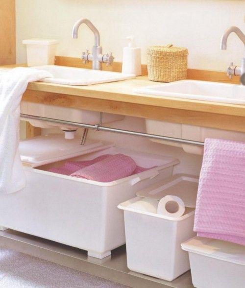 افكار للحمامات الصغيرة