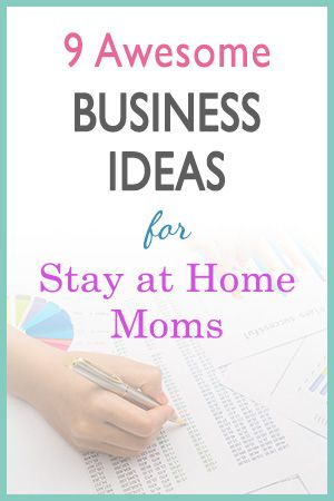Awesome Home Based Business Ideas For Stay At Home Moms Jobs
