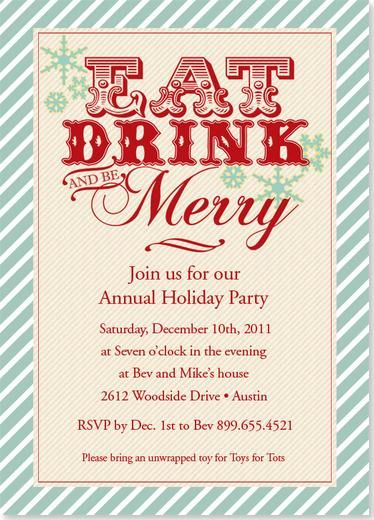 Vintage Celebration Holiday Party Invitation Holiday Party Invitation Christmas Holiday Party Invitations Holiday Party Invitation Template