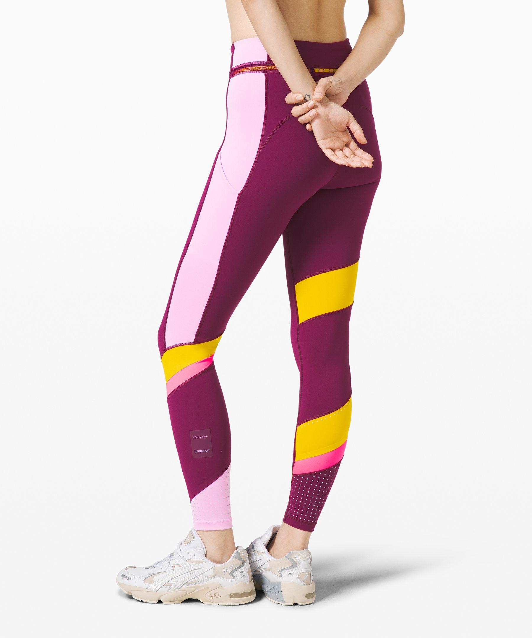 lululemon Women's Break New Ground Legging lululemon X Roksanda, Marvel/Honeycomb/Candy Pink, Size 8 #honeycombcandy