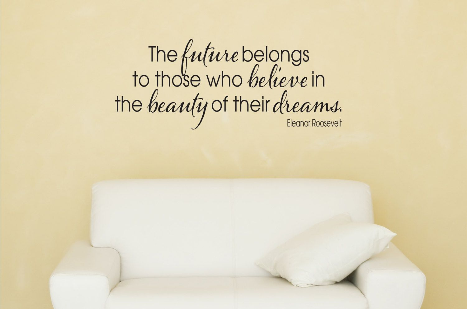 Eleanor Roosevelt Quote Wall Decal. | Our Decal Shop | Pinterest ...