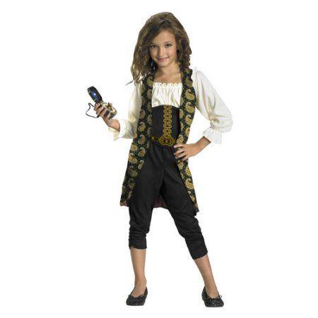 Disney Pirates of the Caribbean (Blue) Angelica Child\u0027s Halloween - halloween costume ideas for tweens