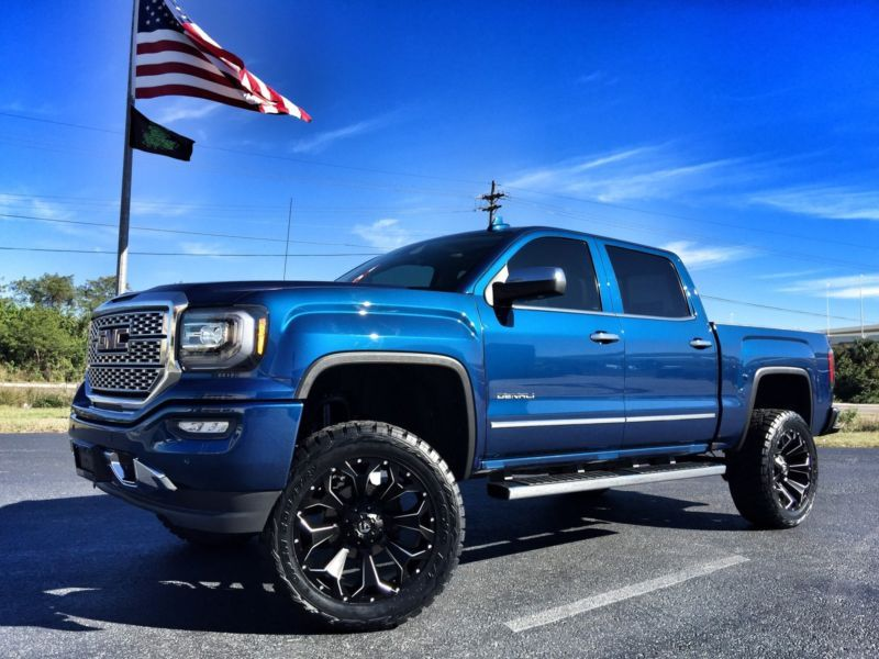 2016 Gmc Sierra 1500 Denali Crewcab 4x4 V8 Lifted Fuel 22 S Toyo