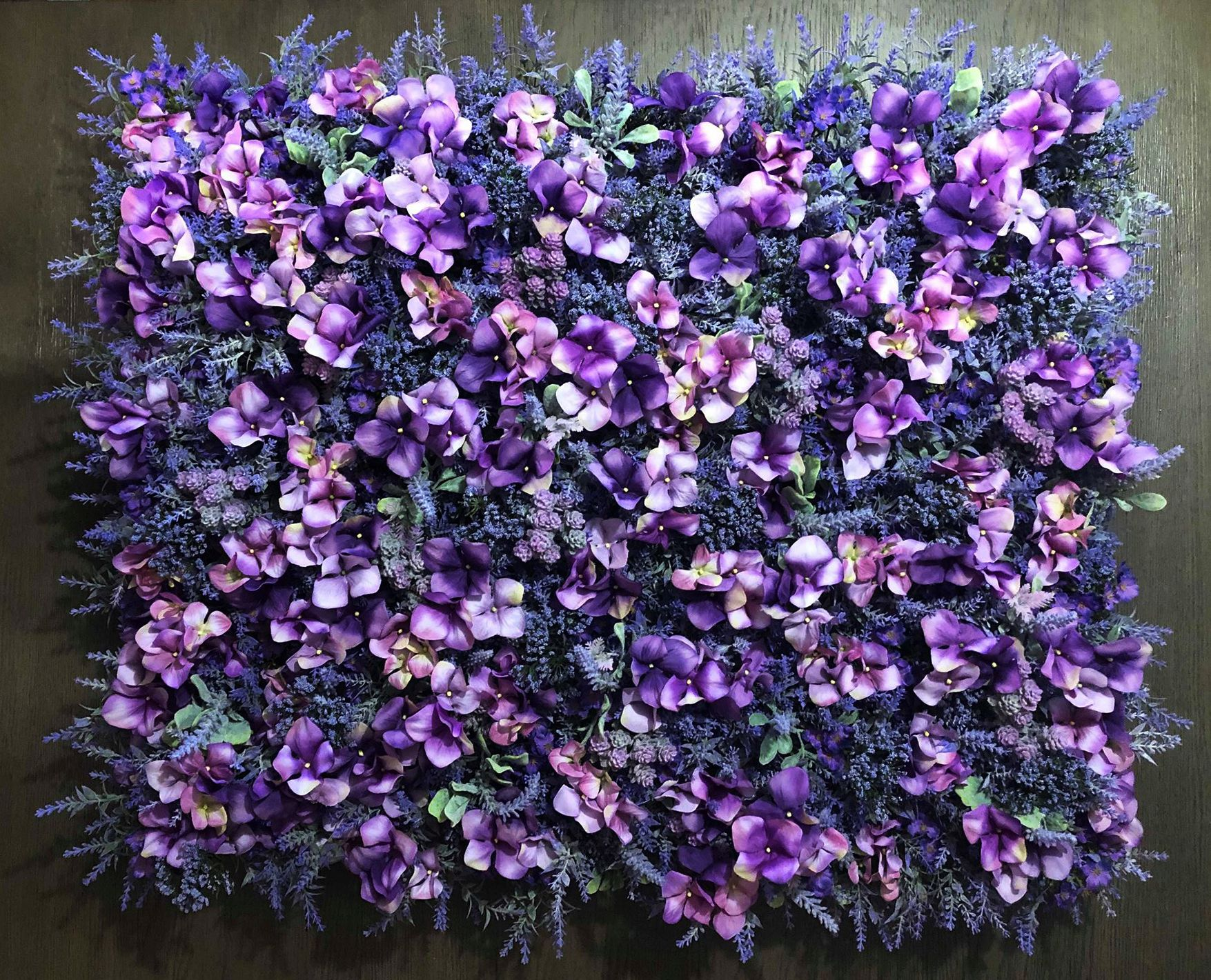 Lavish Lavender Flower Wall Flower Wall Backdrop Lavender Walls