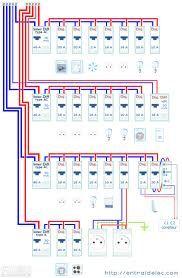 Tableau Electrique Exemple Elektroverkabelung Elektroinstallation Elektro