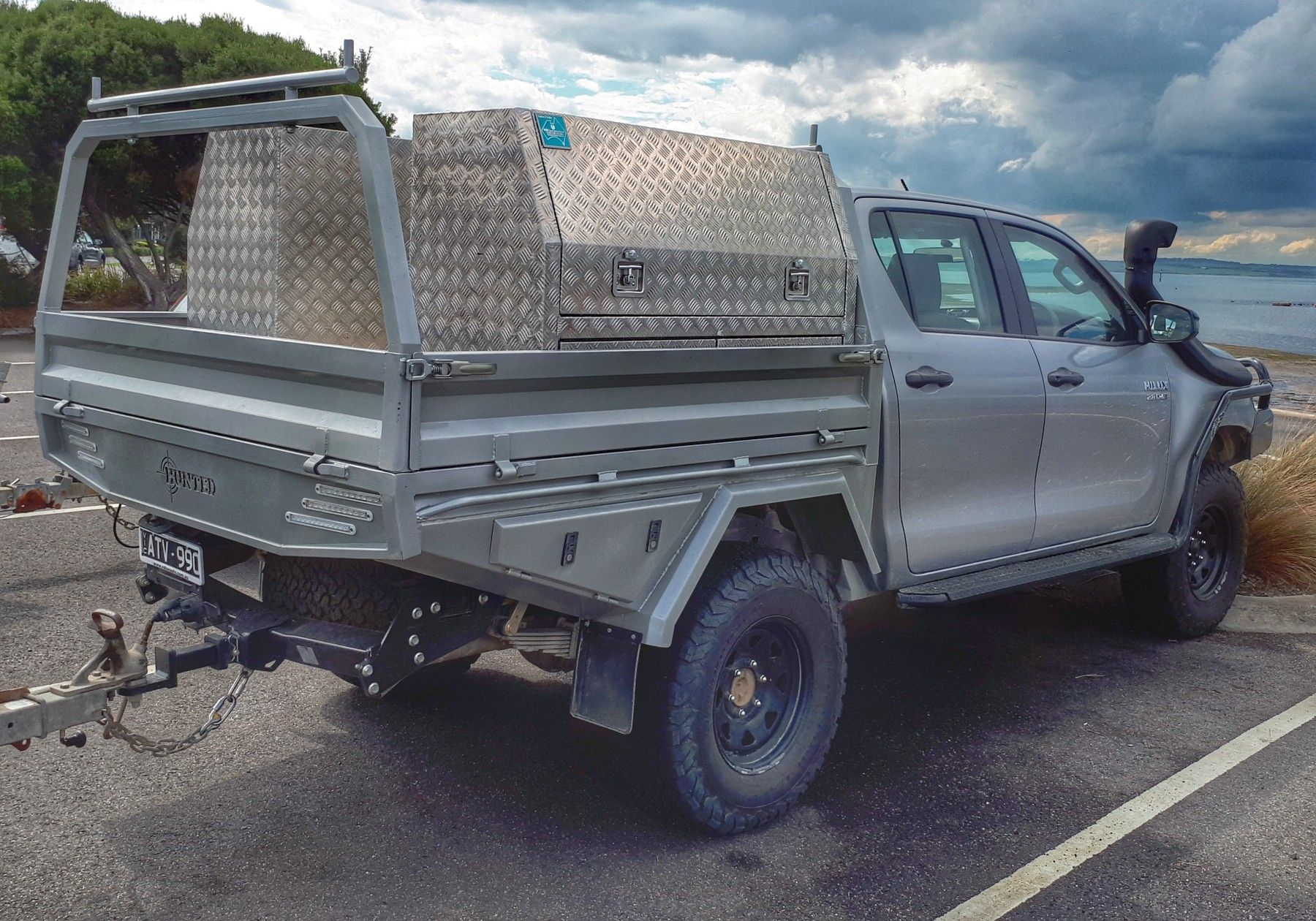 Hunted Eng Tray Custom Ute Trays Ute Trays 4x4 Trucks