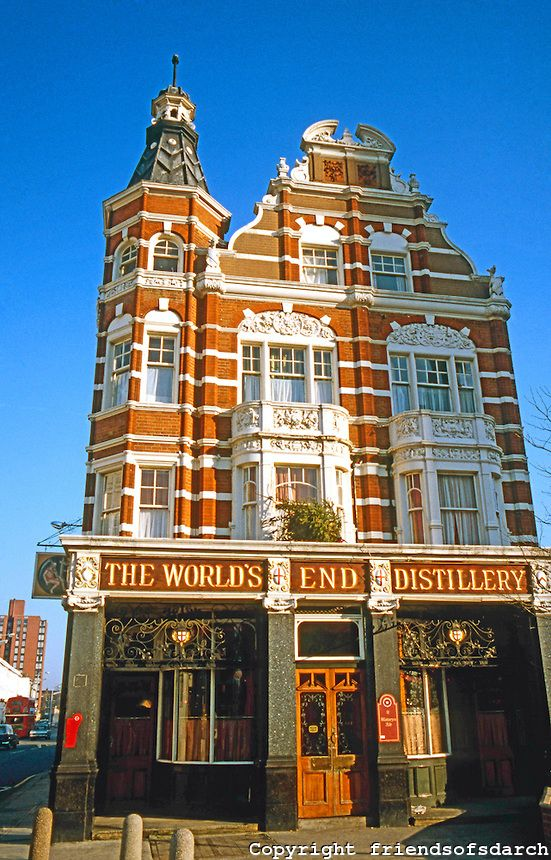 The World's End Pub. King's Road, Chelsea, | London places, London