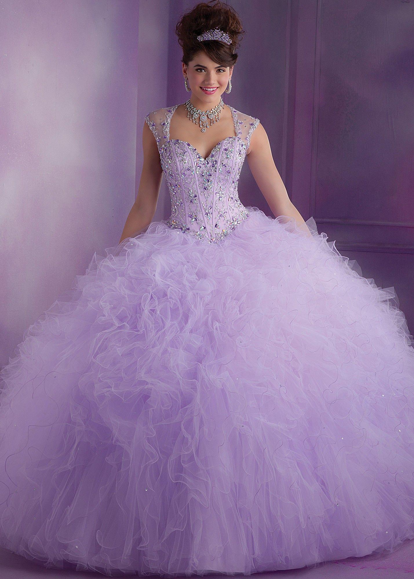 Mori Lee 89010 Beaded Quinceanera Dress
