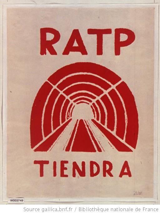 Mai 1968]. R.A.T.P. tiendra. Ecole nationale supérieure des Beaux ...