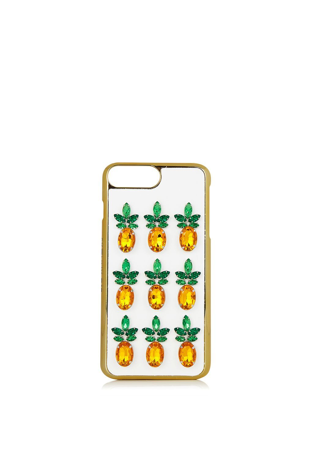 **Pineapple Gem iPhone 6/7 Plus Case by Skinnydip - iPhone Accessories - Bags & Accessories - Topshop