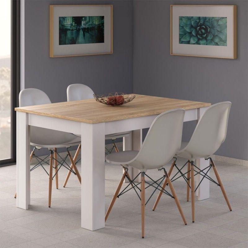 Mesa de comedor salón extensible mesa de cocina, mueble salon ...